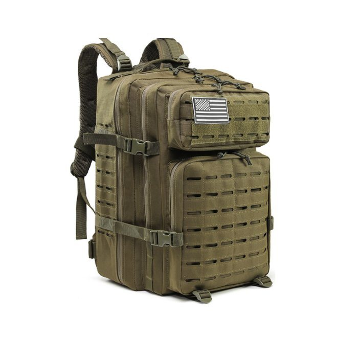 Tactical Military Backpack 25L MOLLE Army Assault Pack Water Resistant
