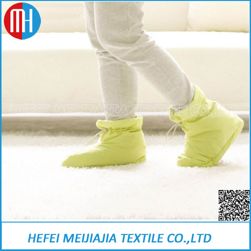 Household Indoor Comfortable Shoes Warm Winter Down Shoes