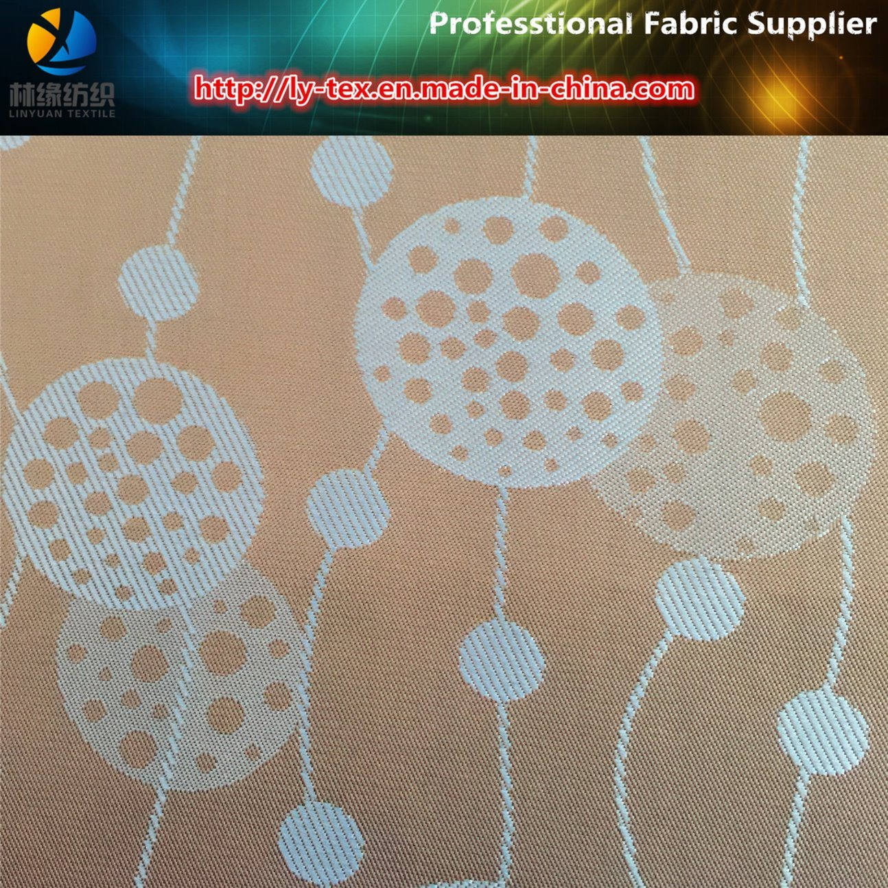 Polyester Fabric, Dandelion Jacquard, Twill Fabric, Lining Fabric (14) pictures & photos