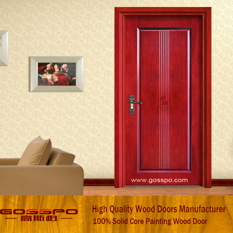 China Ash Wood Mdf Wood Interior Door Gsp8 028 China Mdf Door