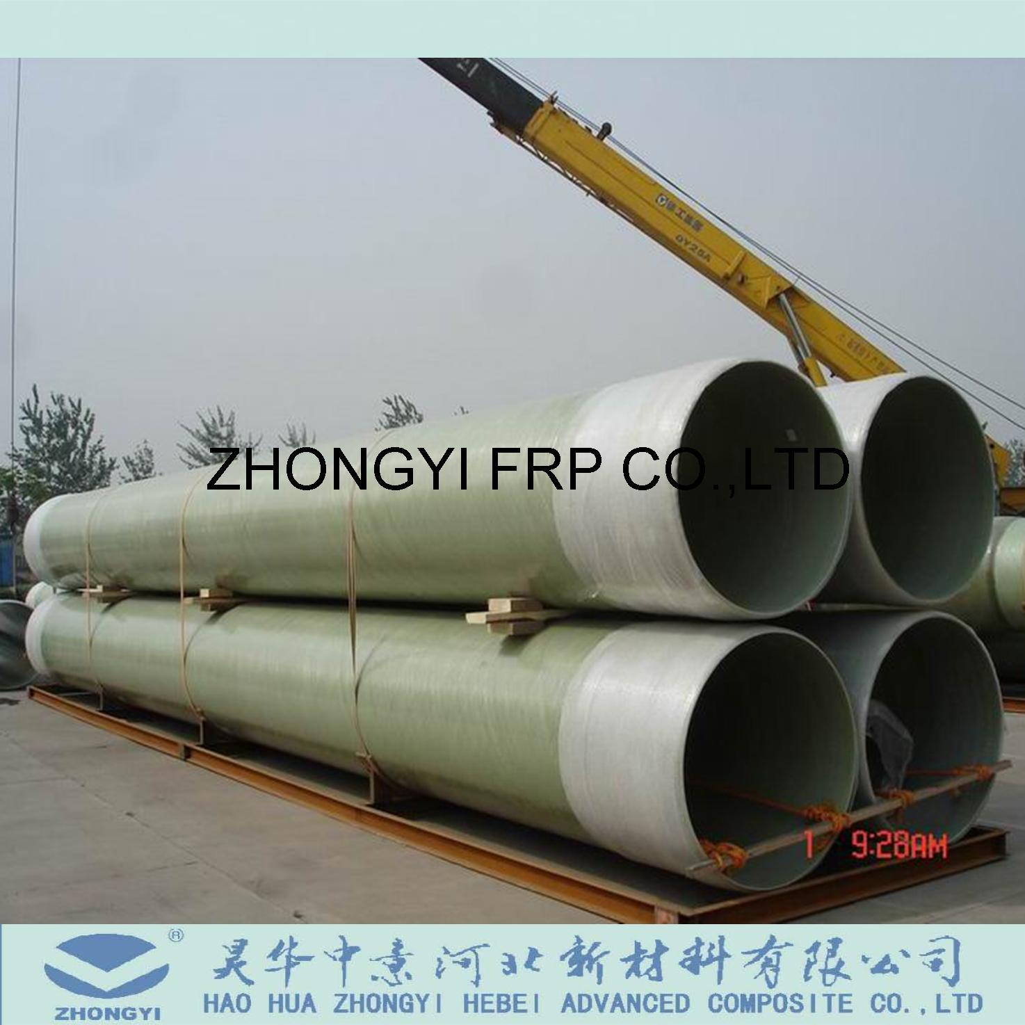 [Hot Item] GRP FRP Process Fiberglass Pipe