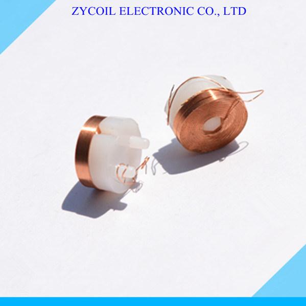 China Custom Plastic Thin Copper Wire Magnetic Bobbin Coil - China ...