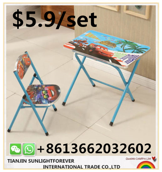 ddc4c8df564 China Cheap Kids Chair and Table Foldable for Study Children ...