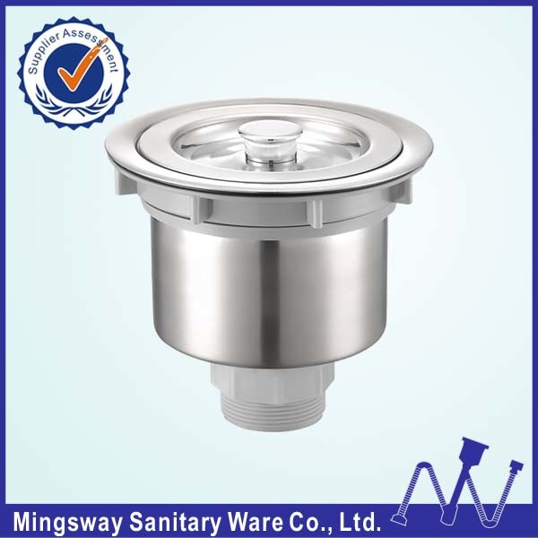 [Hot Item] Kitchen Sink Strainer with Removable Deep Waste Basket,  Stainless Steel /Drain Strainer Assembly / Sealing Lid