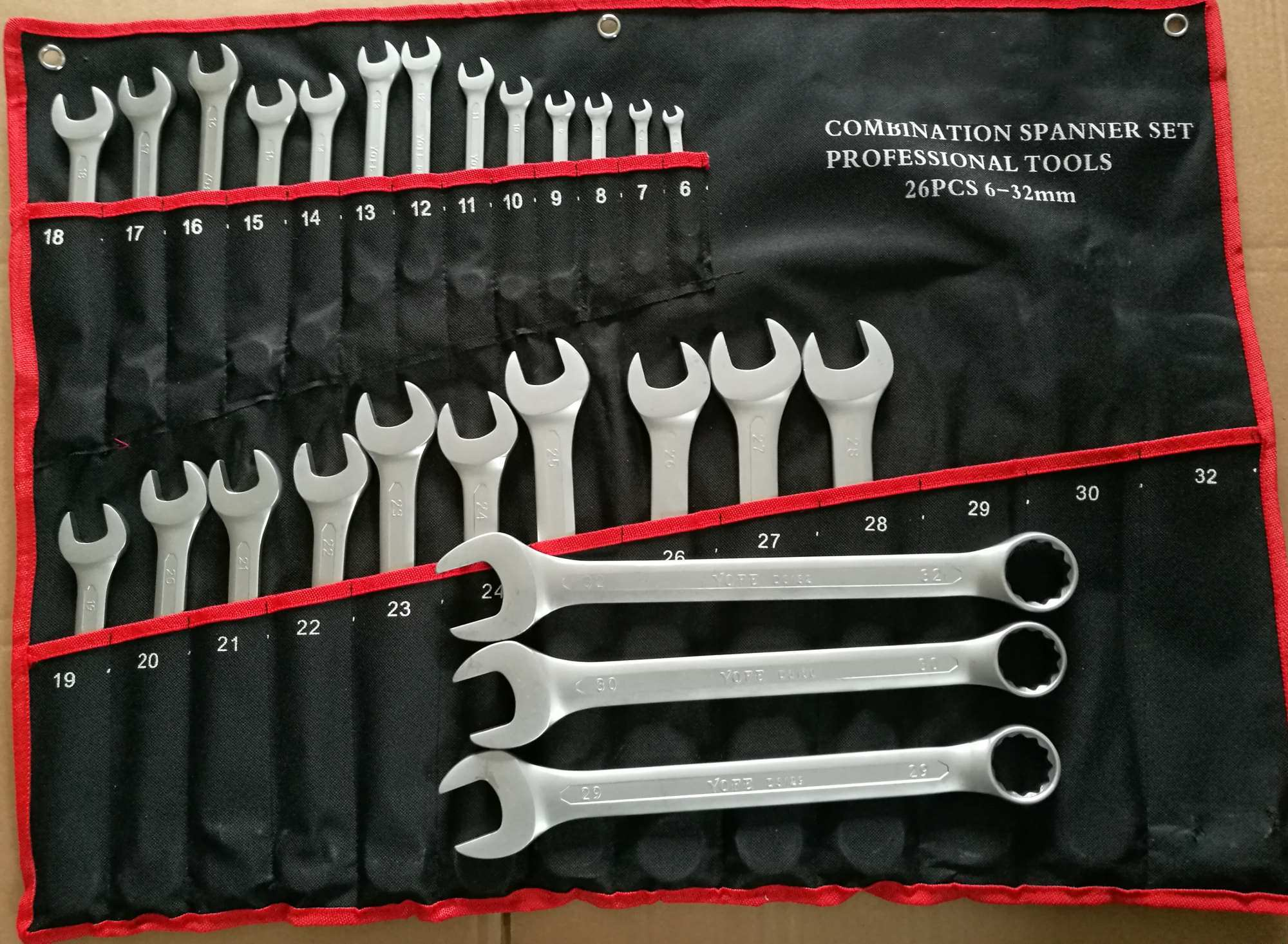 Hot Sale-30 PCS Combination Spanner Set Metric & Imperial pictures & photos