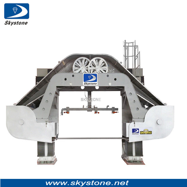 China New Generation Multi Wire Saw Machine for Granite Slabs ...