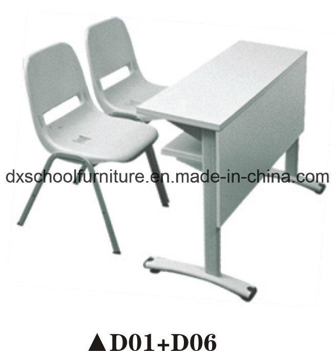 China School Double Desk Chair Set For Kid D01 D06 Desks