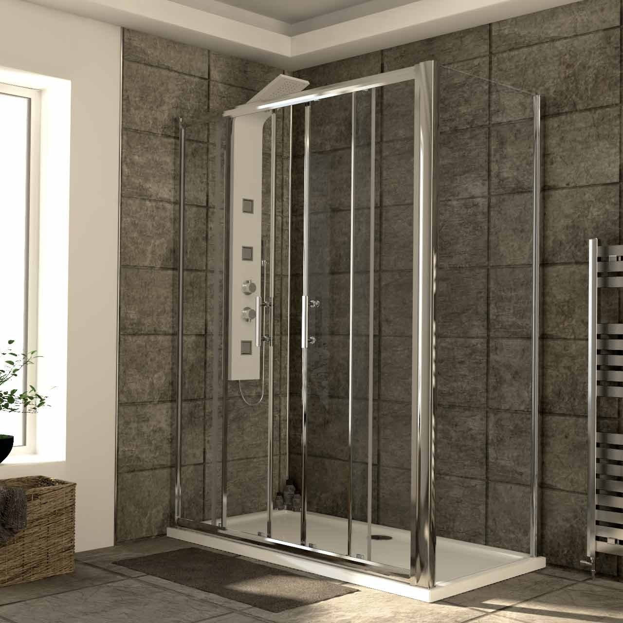 China Aluminium Profile Shower Stall Sliding Doors Shower