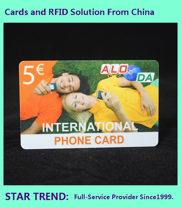 Cmyk 0.76mm Cr80 PVC Card for VIP Member pictures & photos
