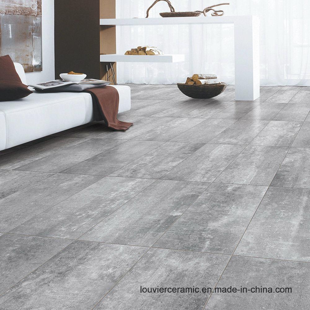 Grey Color Rustic Tile Flooring