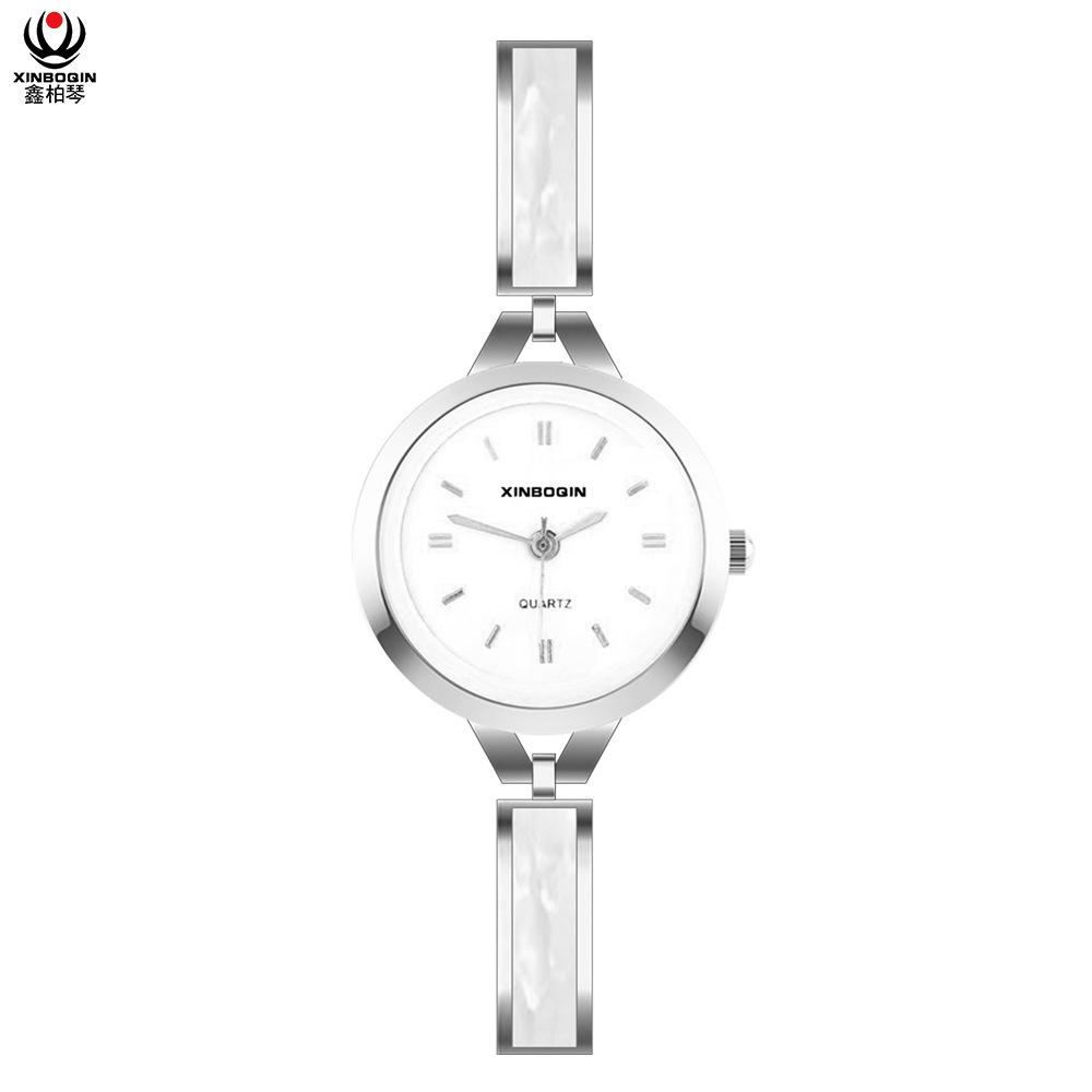 [Hot Item] Xinboqin Dropshipping Fashion China Branded Original Beautiful  Ladies Unique Design Top Fashion Luxury Multi Color Quartz Acetate Watch