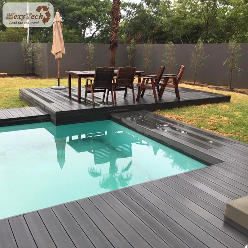 Solid Wood Deck Boards Plastic Decking