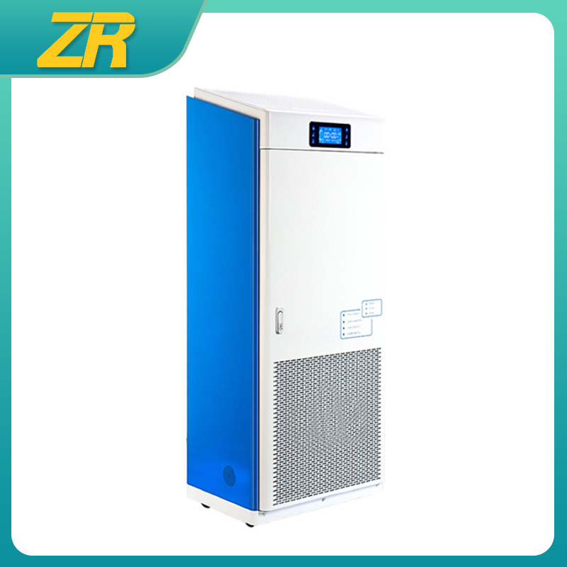 China Zr Zl 001 Hepa Virus Radon Removal Air Purifier Sterilizer China Virus And Air Disinfection Machine Price
