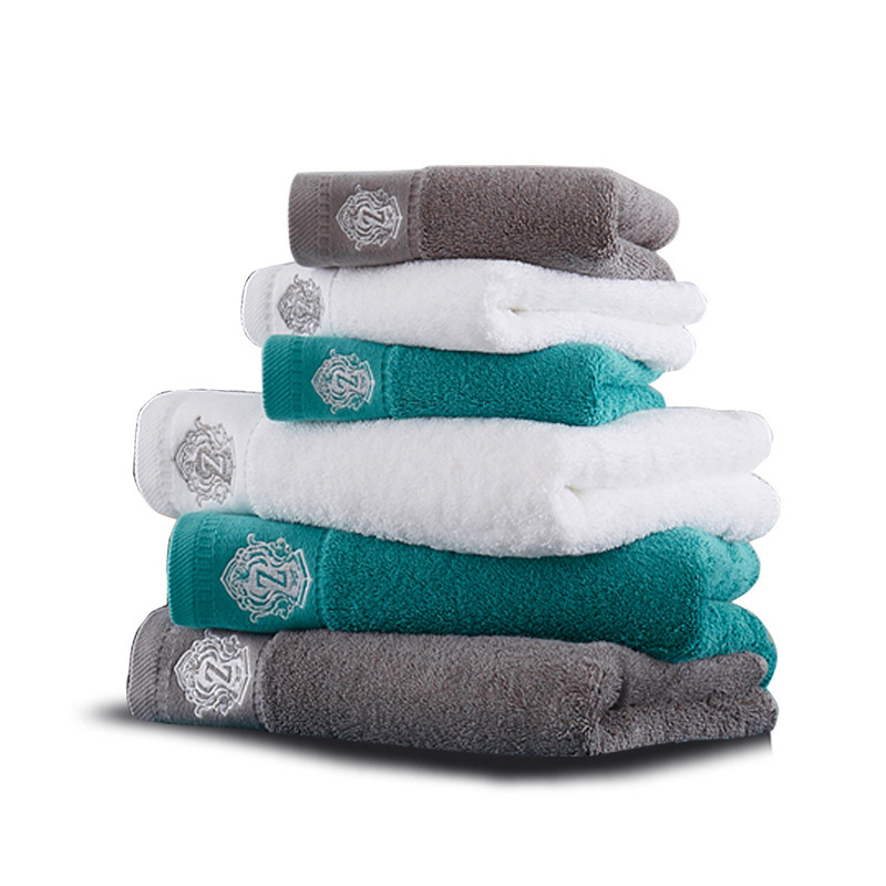 China Luxury Hotel Embroidery Towel Sets China Embroidery Bath Towels And Hotel Embroidery Bath Towels Price
