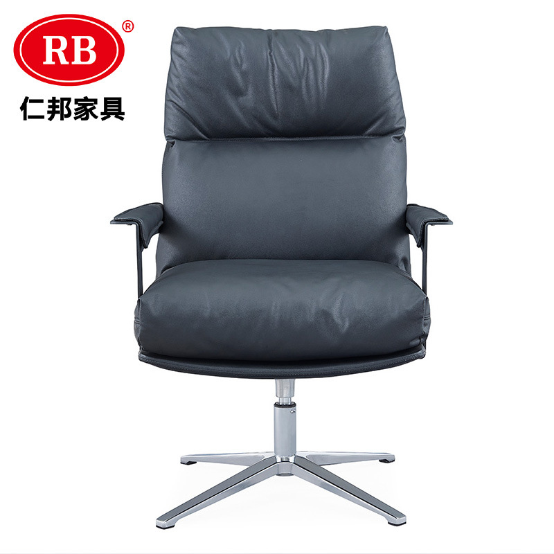 China High Quality Ergonomic Executive Swivel Chair About Office Furniture Comfortable Design Home Office Computer Chair Pu Leather Padding Chair China High Back Office Chair Executive Office Chair
