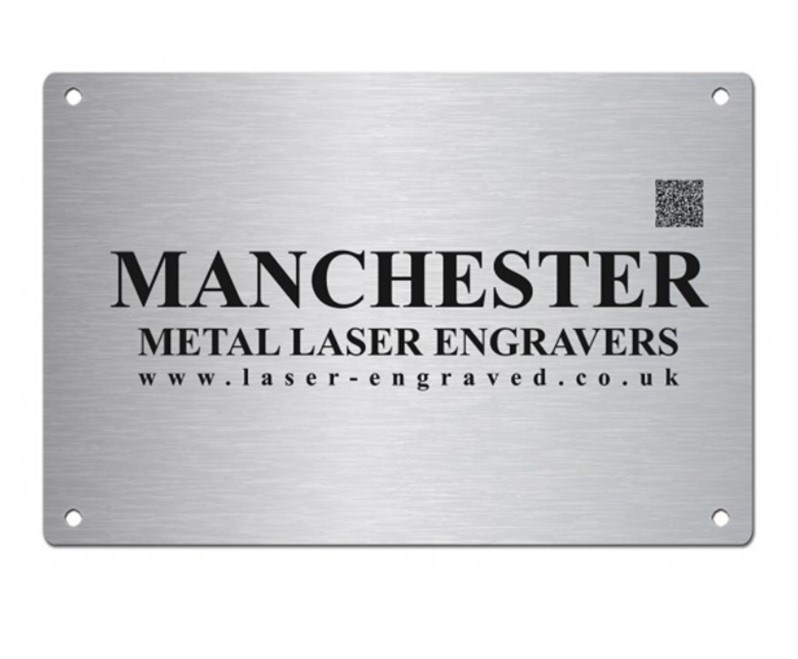 Metal Aluminum Office Desk Name Plate