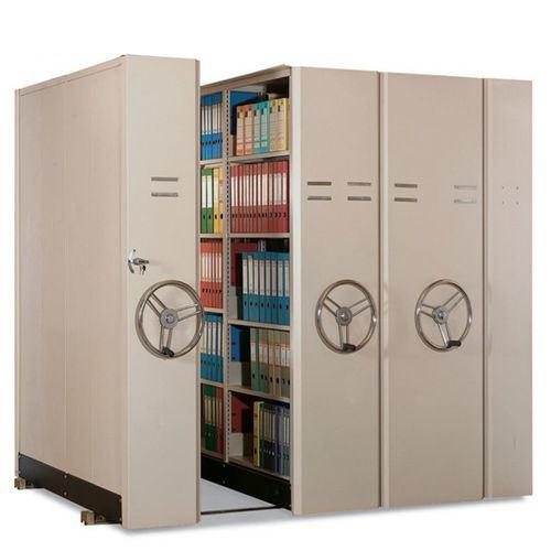 Archive Storage Shelving Movable Rack Cabinet Bookshelf Office Furniture