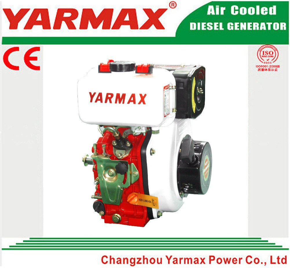 Yarmax Hand Start Air Cooled 4 Stroke Single Cylinder Marine Diesel Engine Ym186f pictures & photos