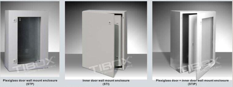 Charming Inner Door / Glazed Door Steel Wall Mount Enclosure