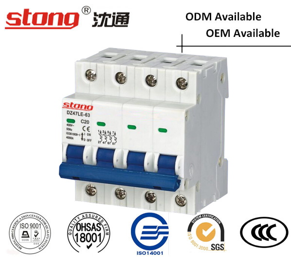 Mini Vacuum Circuit Breaker Dz47-63 (With Indicator) Overcurrent Protection pictures & photos