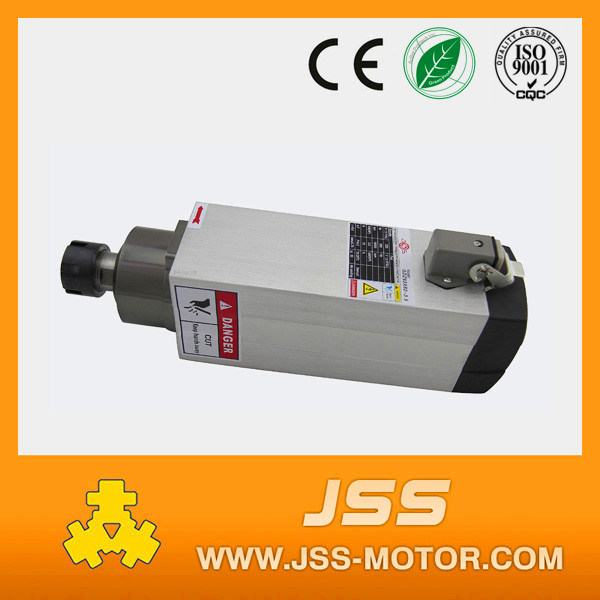 3.5kw Square Shape Air Cooling Spindle Motor