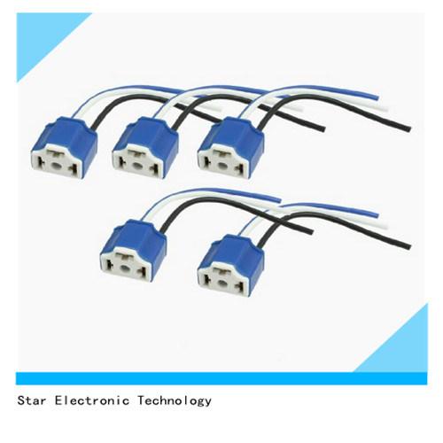 on 3 pin socket wiring harness