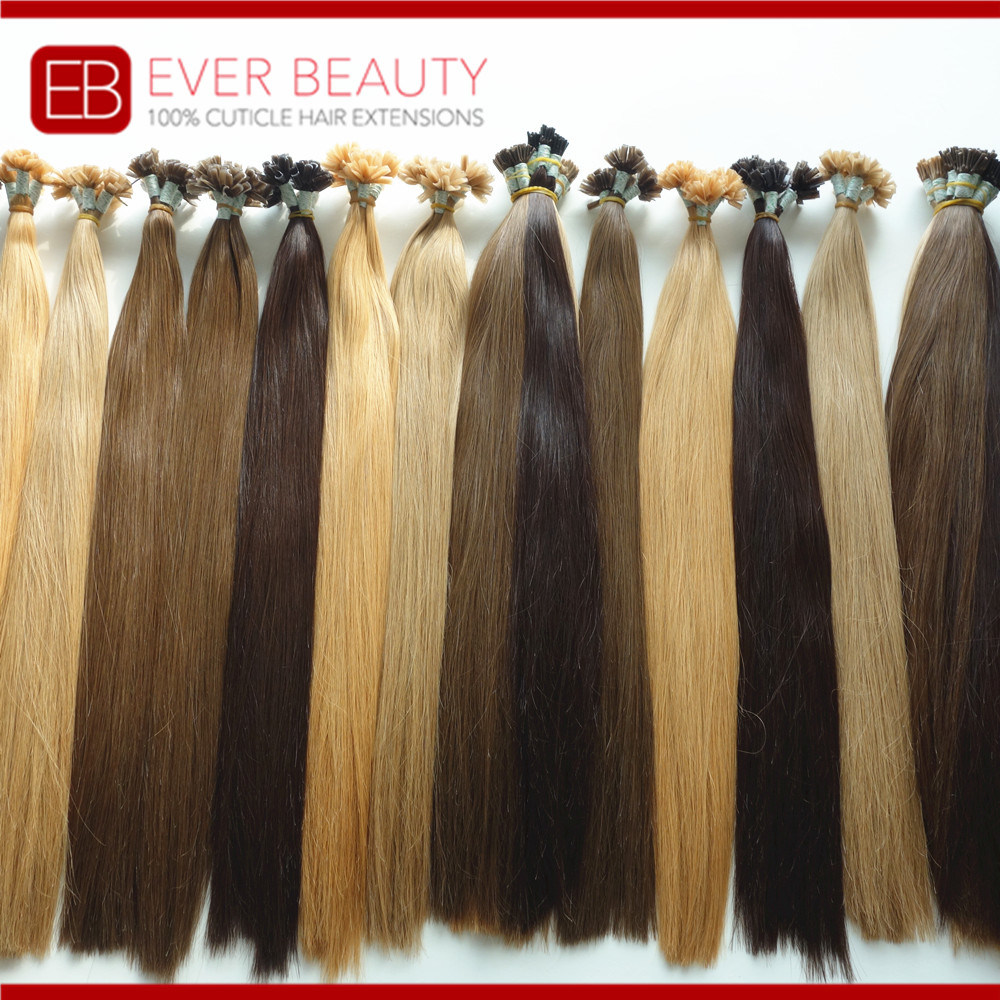 China I Tip Fusion Keratin Pre Bonded Hair Extensions China I Tip