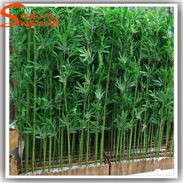 china factory direct outdoor decoration artificial bamboo plant tree