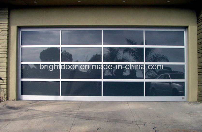 China Electric Garage Door Prices Glass Garage Door Manufacturer