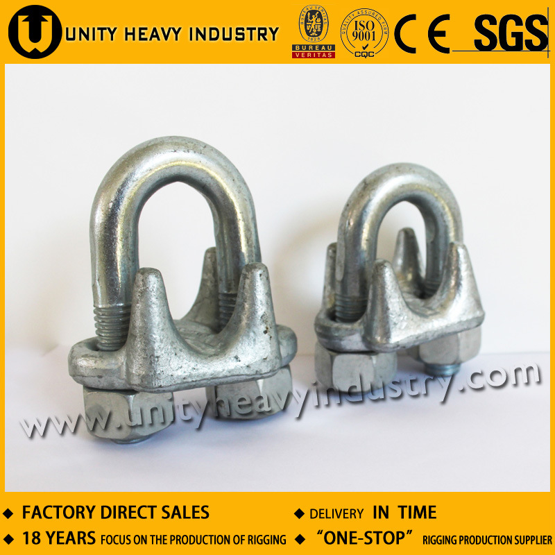 China U. S. Type Drop Forged Wire Ripe Clips, Steel Wire Rope Clamp ...