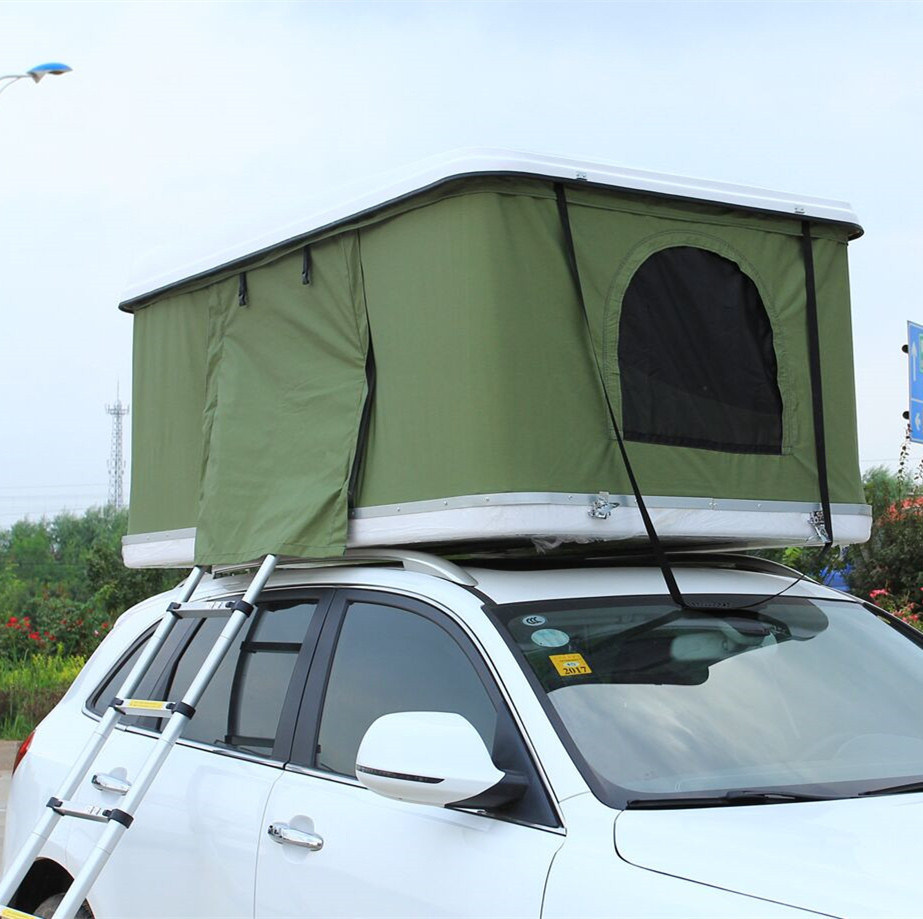 Practical Pop Up Car Roof Top Tent With Awning