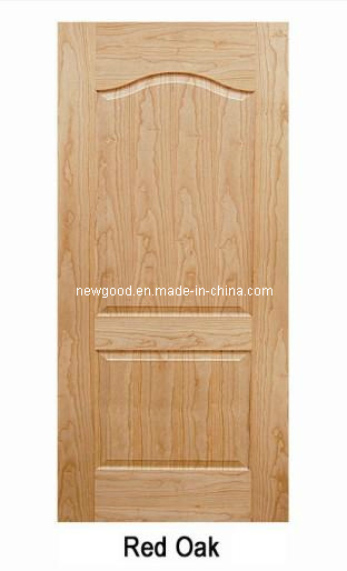 (Red Oak) Veneered HDF Moulded Doors, Composite HDF Doors