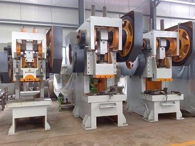 China J23-50 C-Frame Inclinable Power Press, 50 Ton Mechanical ...