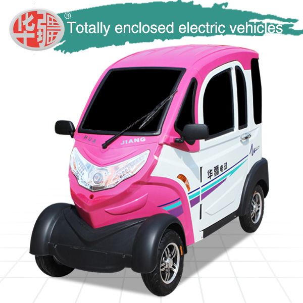 3 Seat Full Closed The Four Round Electric Car