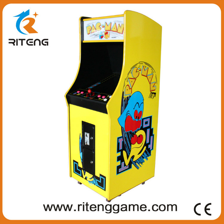 Coin Pusher Upright Pacman Arcade Game Machine with 60 Games pictures & photos