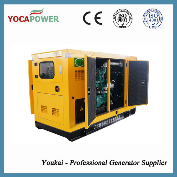 37.5kVA Soundproof Electric Generator with 4-Stroke Diesel Engine pictures & photos