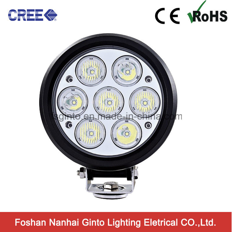 6inch Round Offroad 4X4 70W LED Work Light (GT1025-70W)