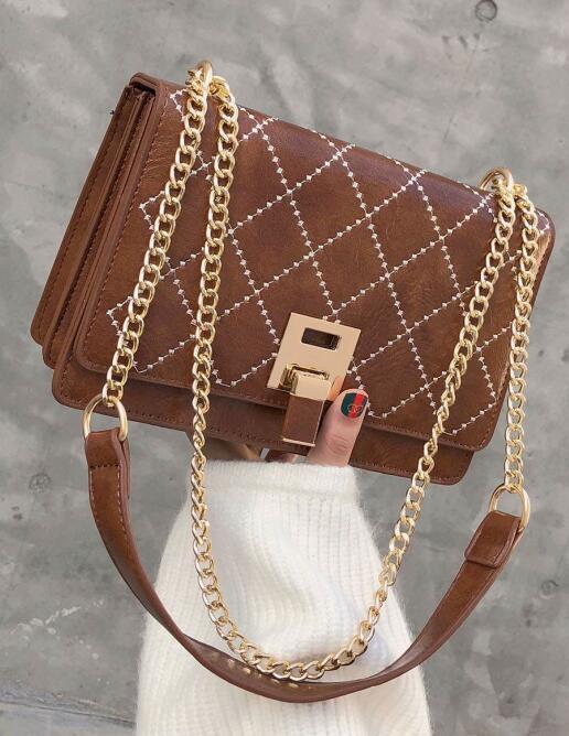 China New Quality Lock Catch Women Las Pu Handbag Tote