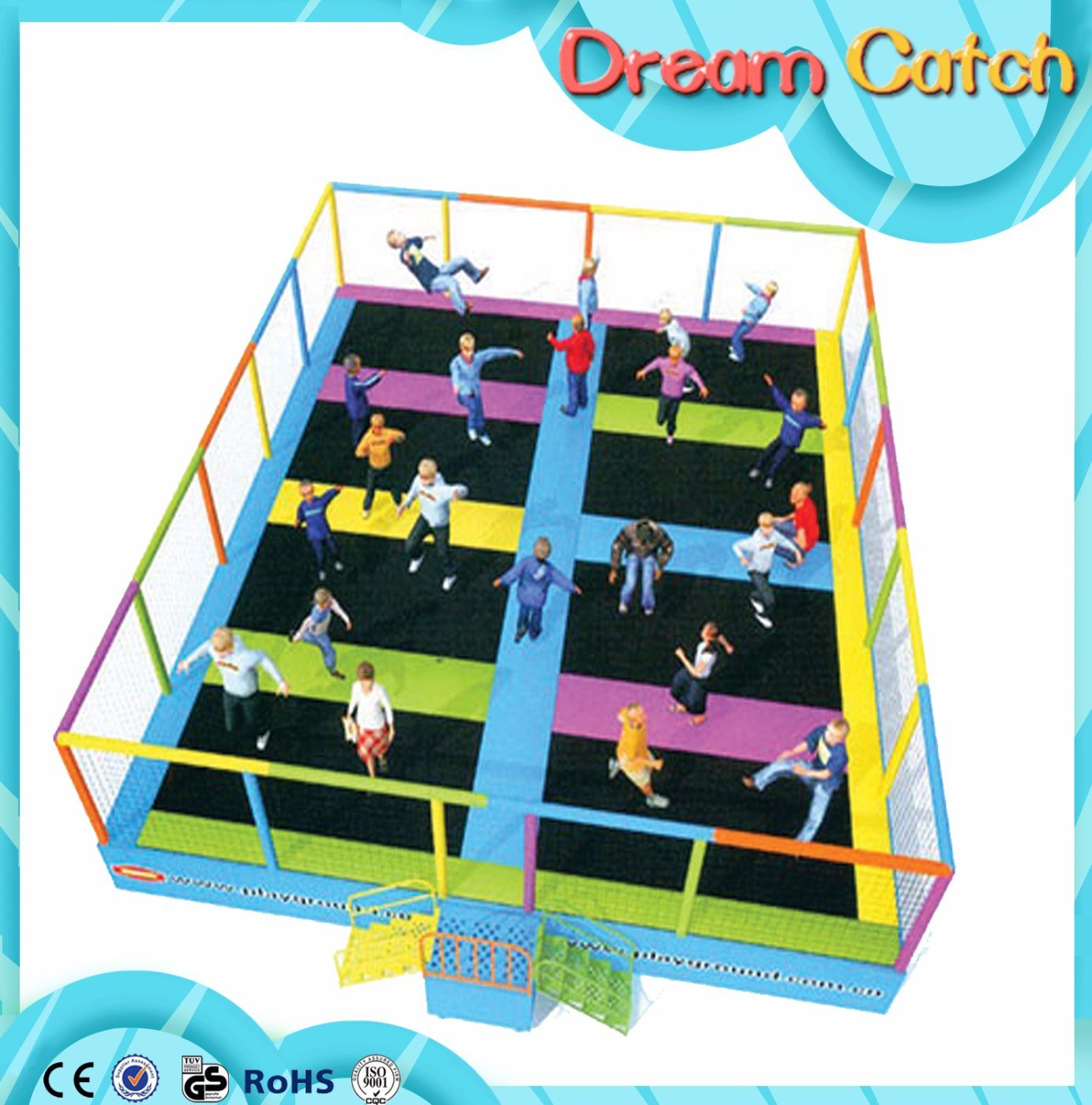 Children Games Room Indoor Trampoline pictures & photos