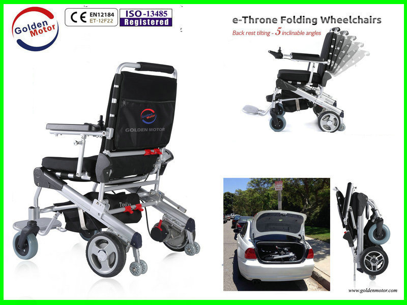 China Golden Motor Electric Wheelchair for Adult, Elder, Handicapped ...