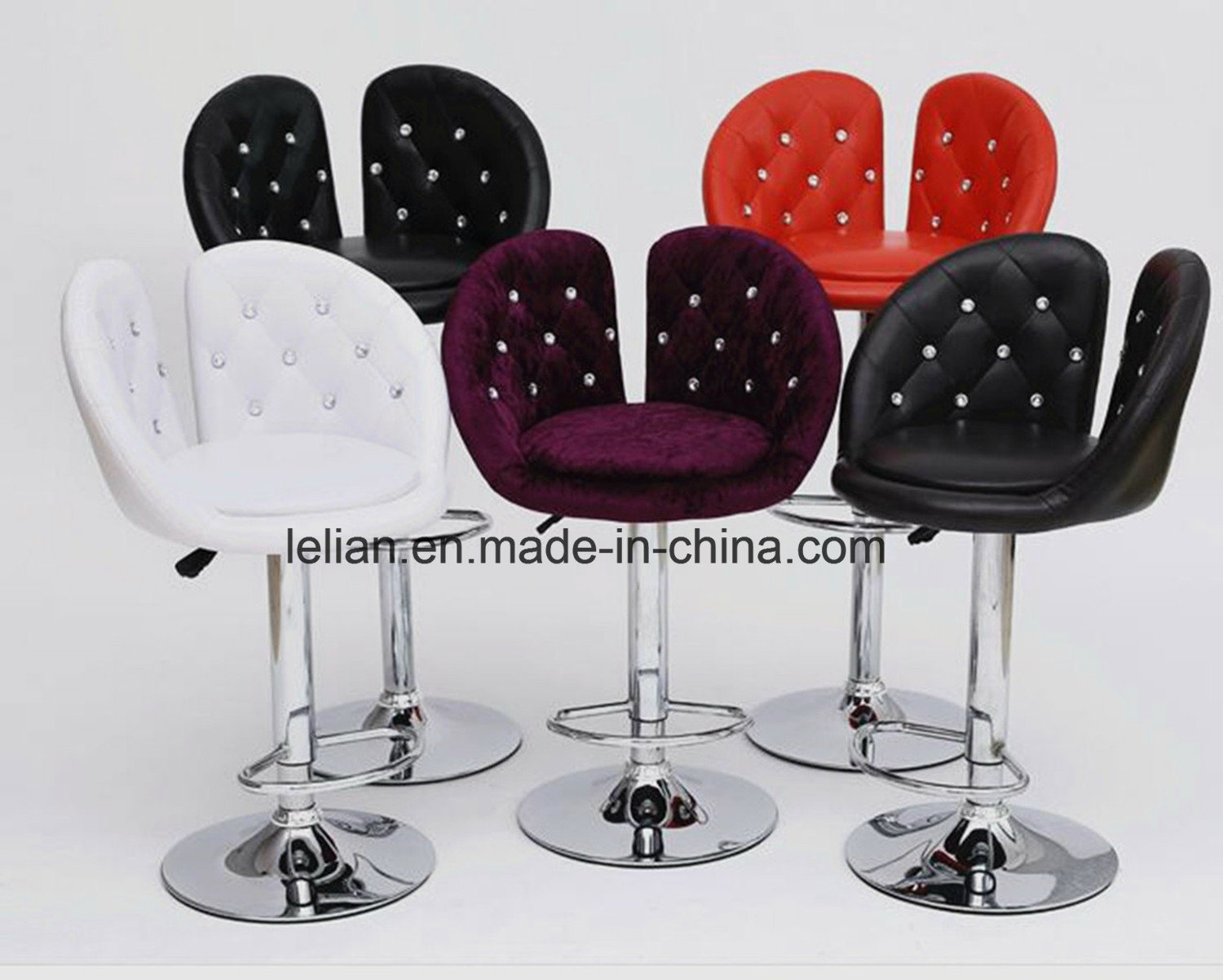 Prime Hot Item Best Design Pu Bar Chair Modern Adjustable Swivel Stool Ll Bc073 Gmtry Best Dining Table And Chair Ideas Images Gmtryco