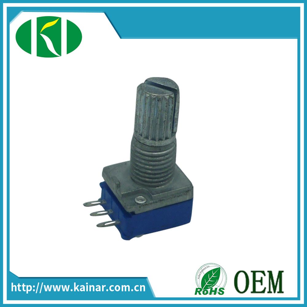 9mm Rotary Potentiometer with Metalshaft Wh9011A-1