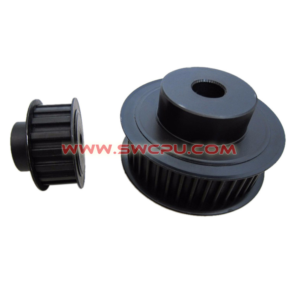 China Customized Plastic Timing Belt Pulley / Sliding Door Roller ...