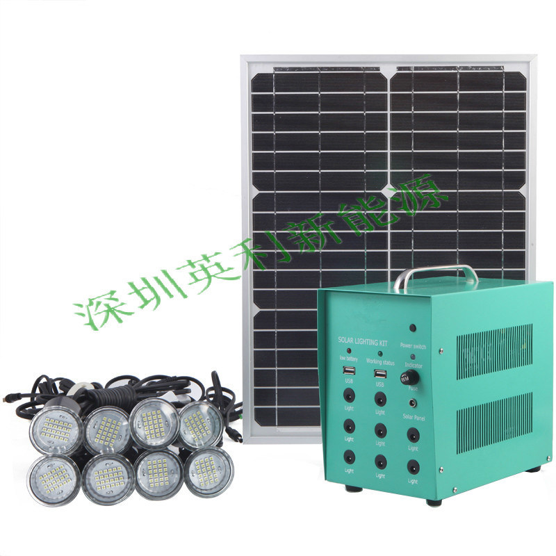 40W Emergency Solar Generator (Warranty for 3 years)