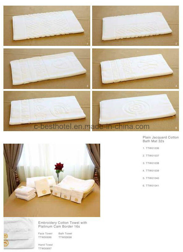 100% Cotton Hotel High Quality Towel
