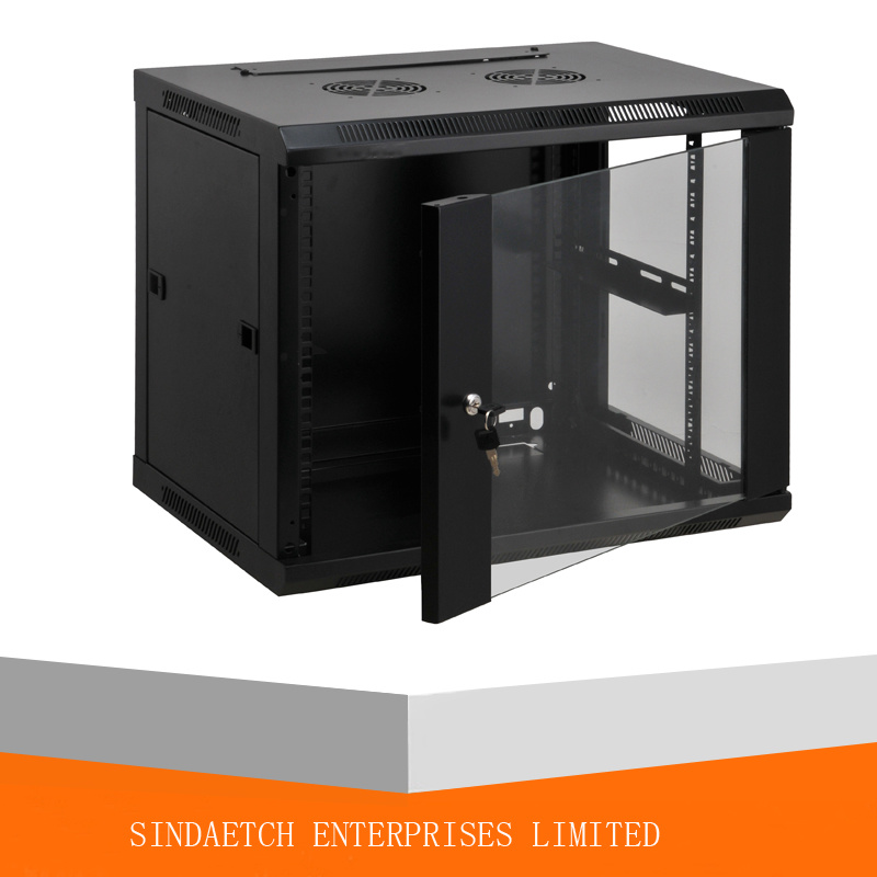 China 4u-27u Wall Mounted Network Cabinet / Server Rack