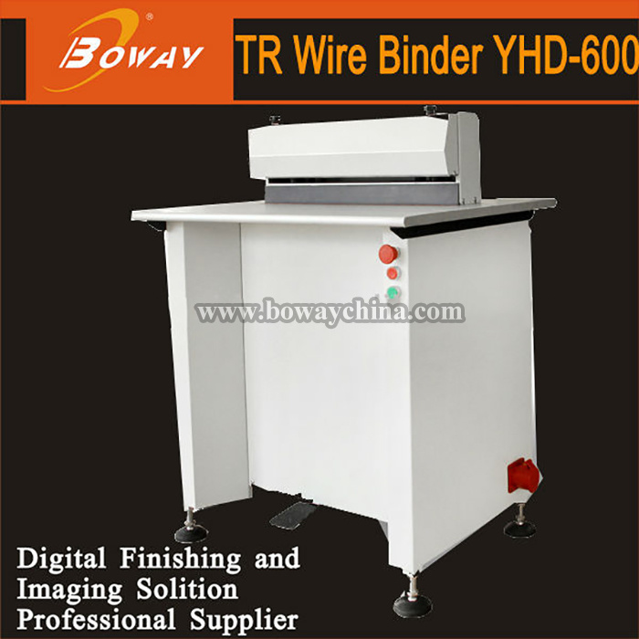 Heavy Duty Book Binding Tr Wire Binder Machine pictures & photos