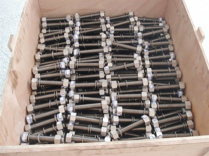 Heavy Hex Nuts (Fastener, Haiyan Hex Nuts A194-2hm,) pictures & photos
