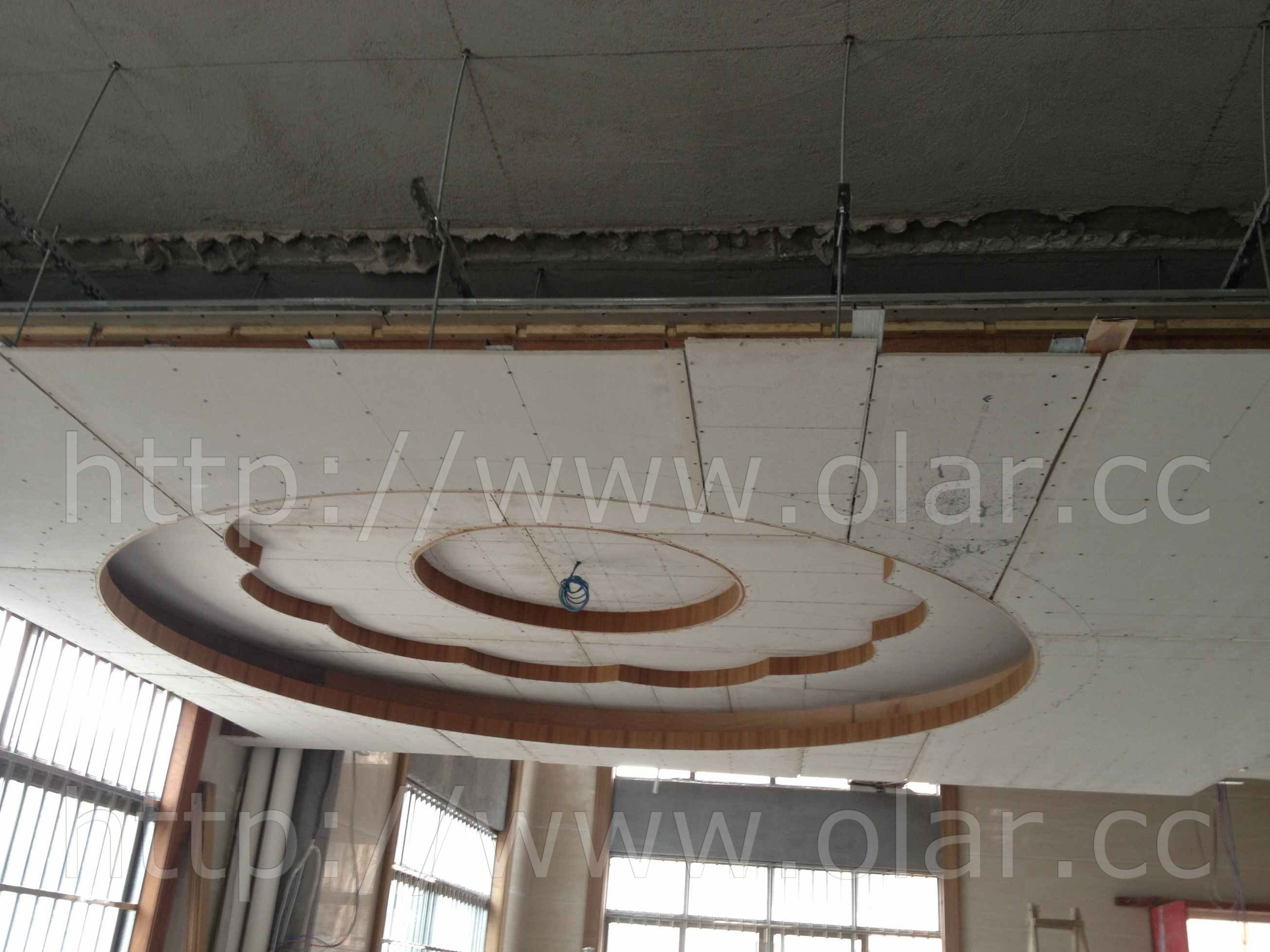 china fiber cement board for ceiling, outside wall and inside wall
