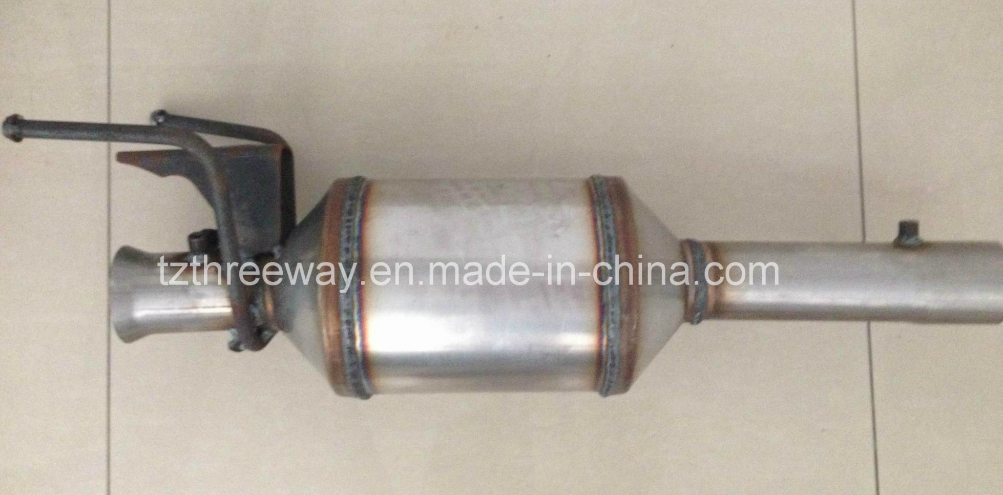 Diesel Particulate Filter (DPF) for Mercedes - Complete/Direct-Fit - Euro4 Emission Norms